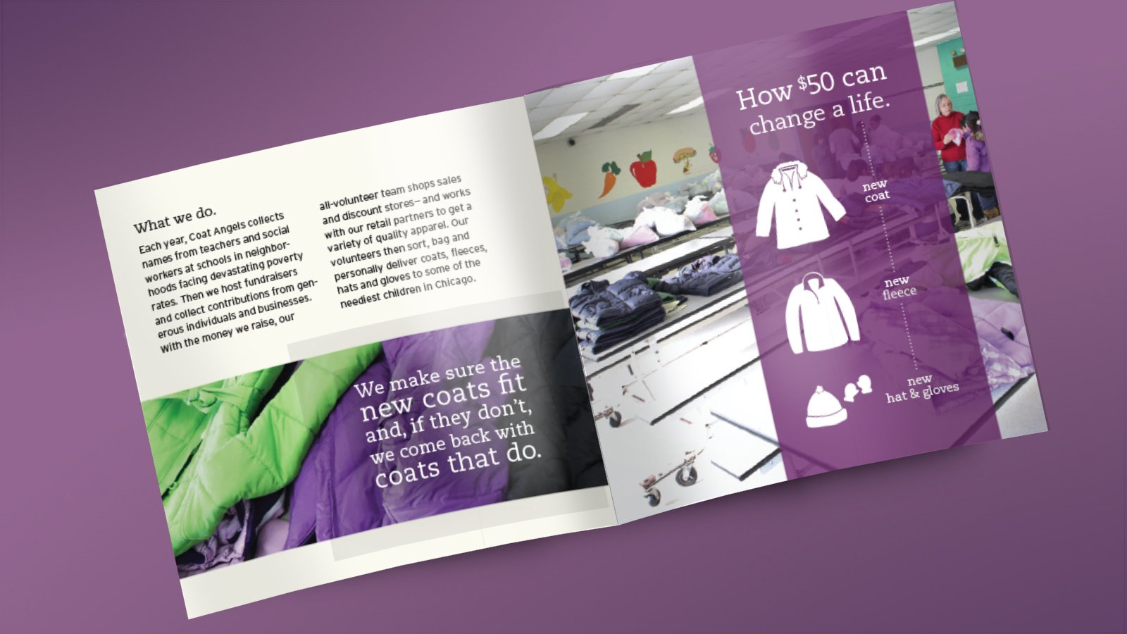 Coat Angels - Brochure Interior